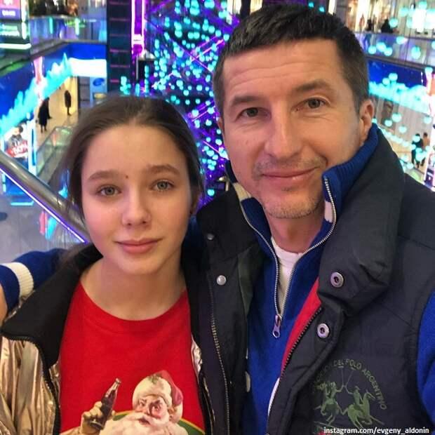 Евгений Алдонин сводил 14-летнюю дочь от Юлии Началовой в театр