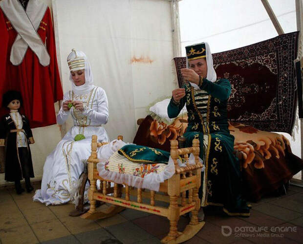 Обрезание пуповины в обрядах черкесов