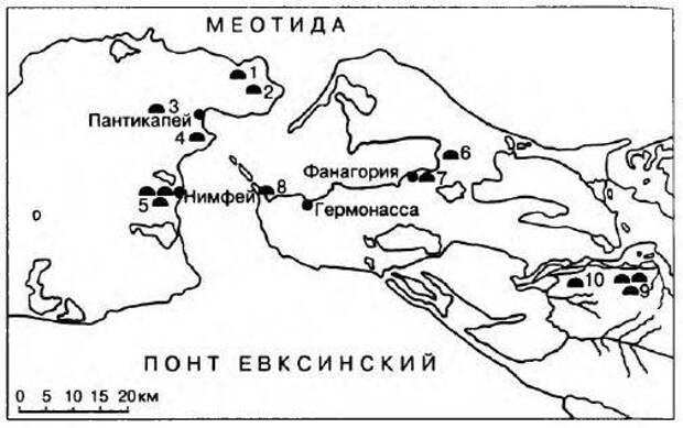 Особенности симбиоза греко-варварских этносов Северного Причерноморья