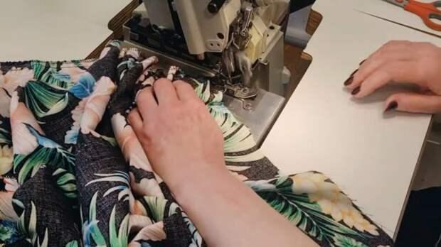 Идеальная летняя юбка на пышную фигуру всего за 30 минут