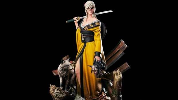 Фигурка Цири из The Witcher 3 появилась в магазине авторов игры