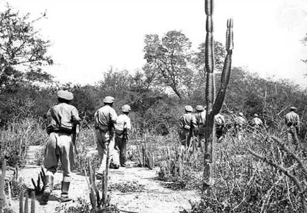 Боливийский патруль в Чако.jpg