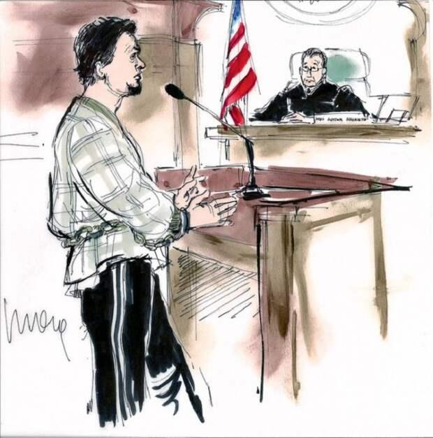 Почему в американском суде делают зарисовки, а не фотографируют