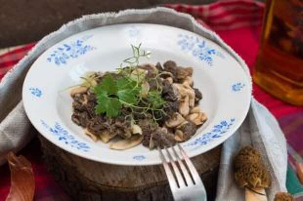 Рагу из сморчков и зеленые вареники. Рецепты летних горячих блюд