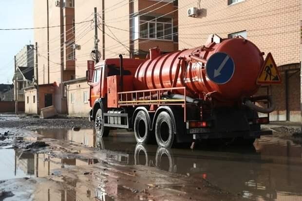Причиной засора канализации в Краснодаре стали нетканые материалы