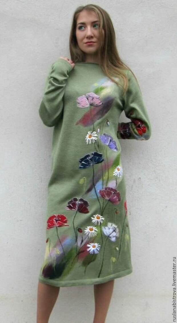 Преображение трикотажной одежды от Русланы Быстровой.