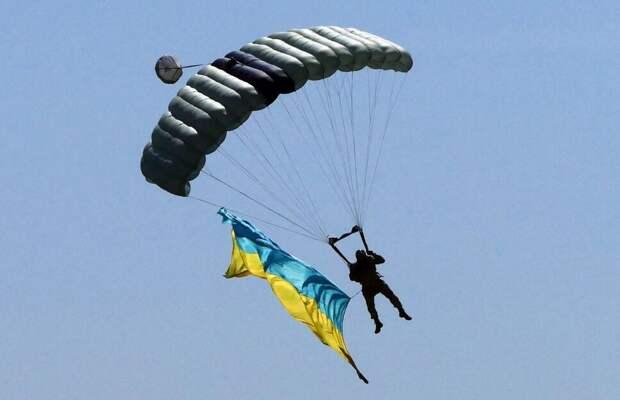Украинские парашютисты станцуют гопак в небе