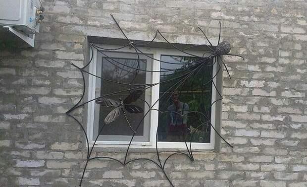 Решетка на окно!