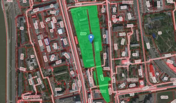 Заброшенные склады Минобороны вцентре Омска достались местному застройщику