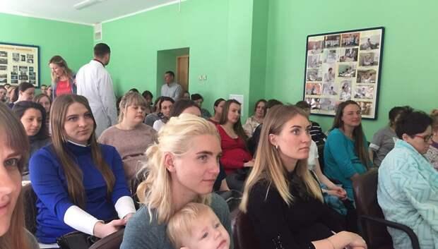 В роддоме Подольске расскажут об истории возникновения колыбельных 18 февраля