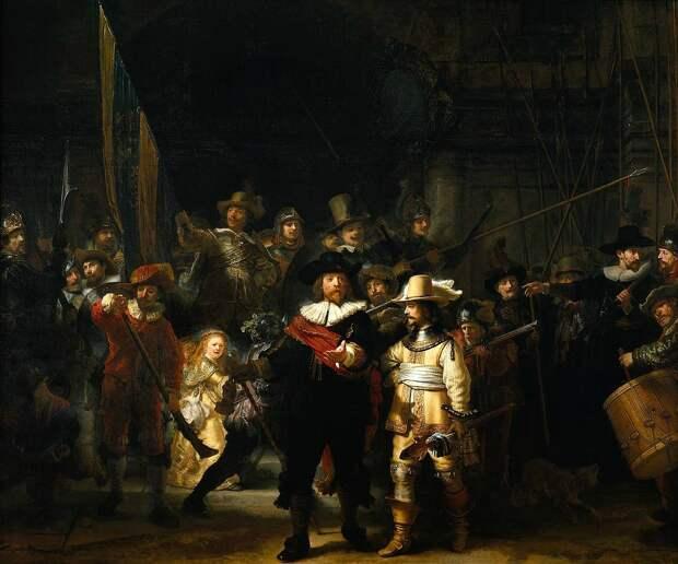РембрандтНочной дозор. 1642