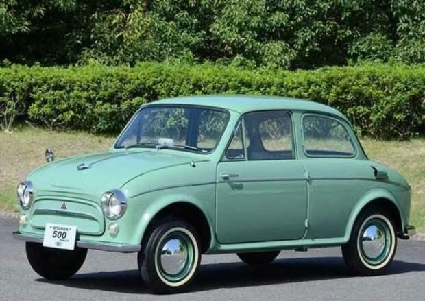 «Японский Запорожец» — каким был Mitsubishi 500 (12 фото)