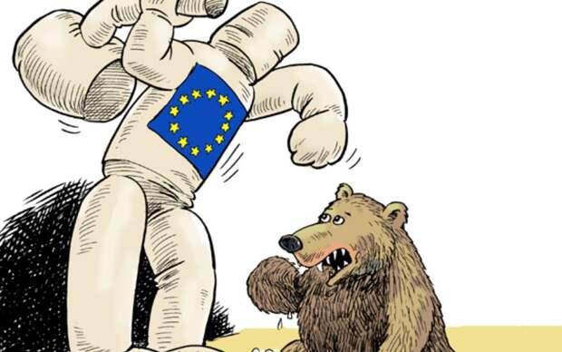 Россия ввела персональные санкции против ЕС