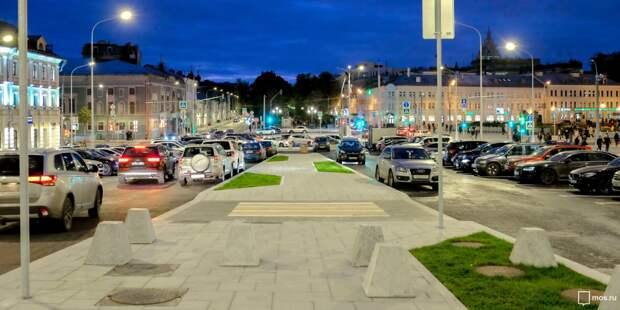 На 3-ей улице Марьиной Рощи установят полусферы до конца недели — управа