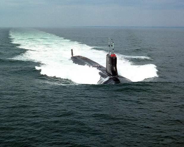 ВМС США направили подлодку Seawolf к границам России
