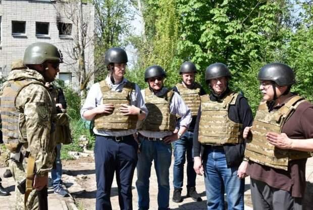 Штаб ООС: Делегация Конгресса США убедилась в присутствии российских войск на Донбассе