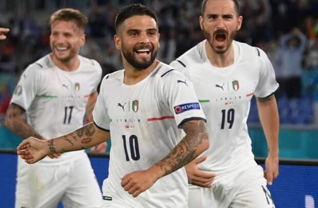 Италия одержала победу над Турцией в матче открытия Евро-2020