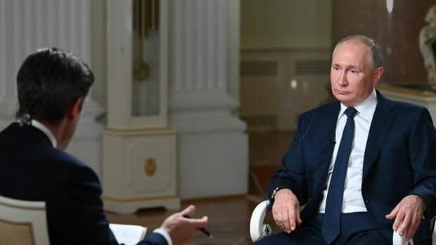 В интервью NBC Путин затронул тему киберпространства и его опасностей