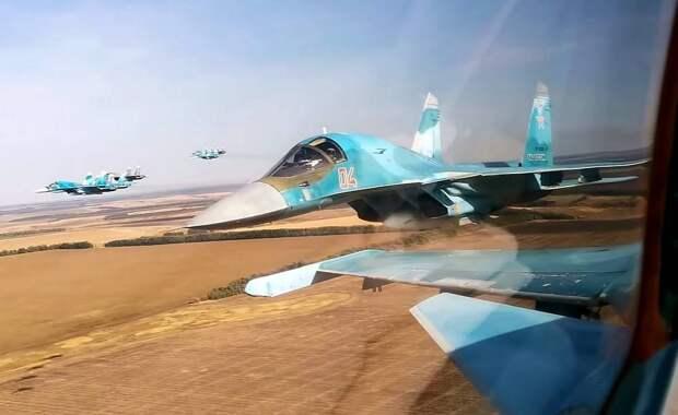 ВКС бьют по террористам Идлиба в ответ на подрыв бронеавтомобиля РФ