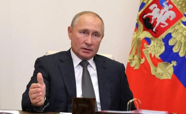 Путин заявил о снятии локдауна в России