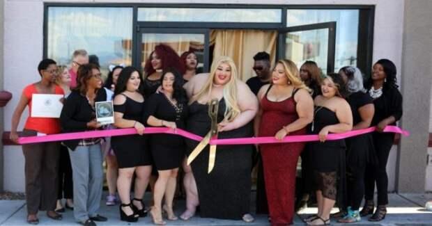 Пышная американка после крупного конфуза открыла салон красоты для толстых и он процветает