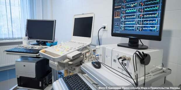 Собянин рассказал об оснащении больниц и поликлиник современным оборудованием. Фото: Е. Самарин mos.ru