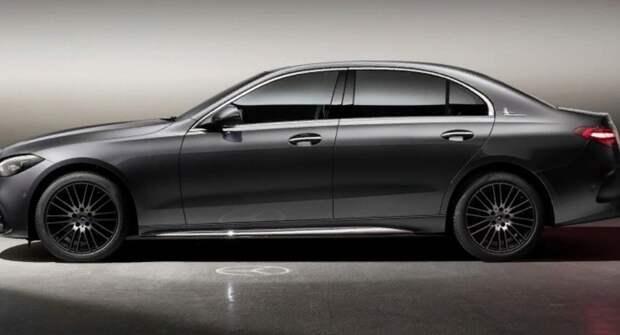 Удлинённый Mercedes-Benz C-Class по колёсной базе «обошёл» Е-Class