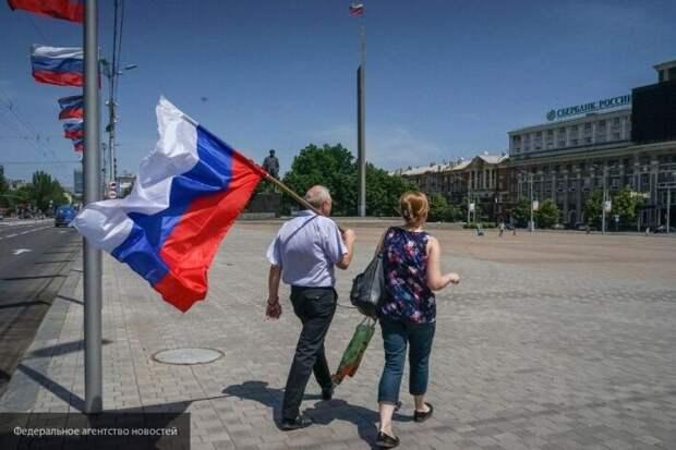 Донбасс ждет будущее в России вне зависимости от позиции Украины