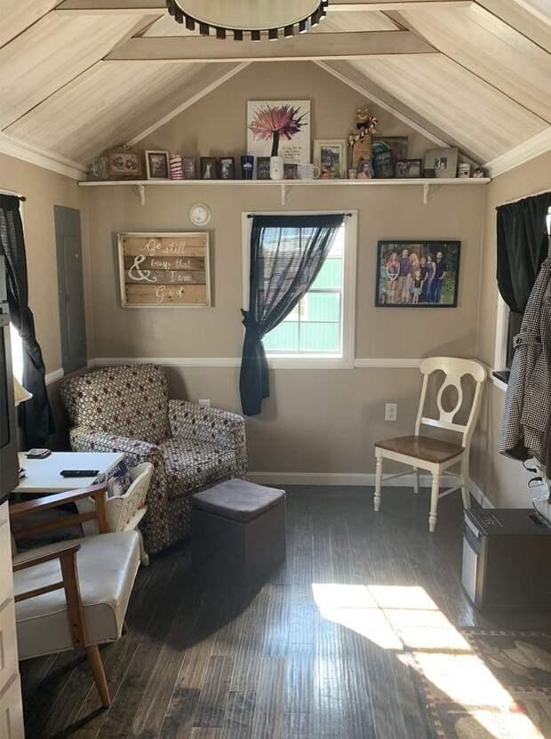 История необычного переезда семьи: вместо отдельной комнаты свой собственный дом