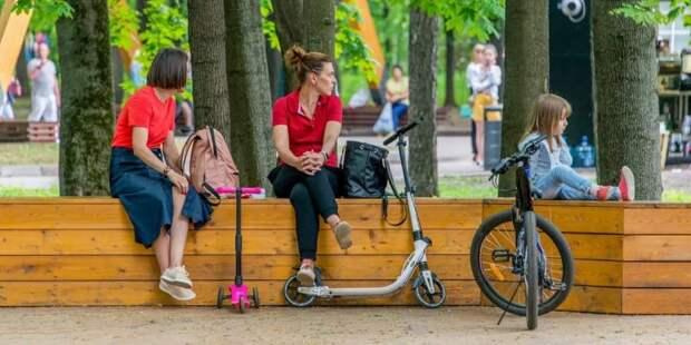 Собянин рассказал о благоустройстве Красной Пресни и Звенигородского шоссе. Фото: Ю. Иванко mos.ru