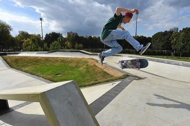 Скейтпарки в Москве: Где открылись экстрим-зоны на лето-2021