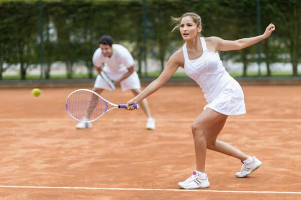 Польза от занятий большим теннисом