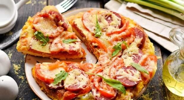 Пицца из гренок за 15 минут: отличная замена бутербродам на завтрак