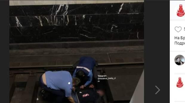 Упавший на пути мужчина стал причиной задержки поездов на Братиславской