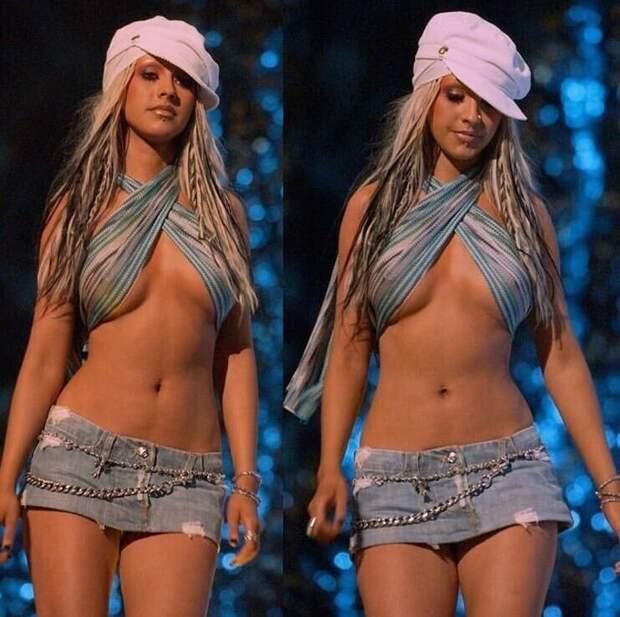 2. Кристина Агилера в 2002 году