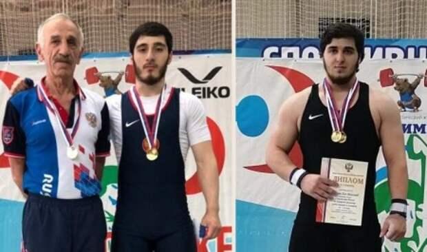 Две золотые медали из Башкирии