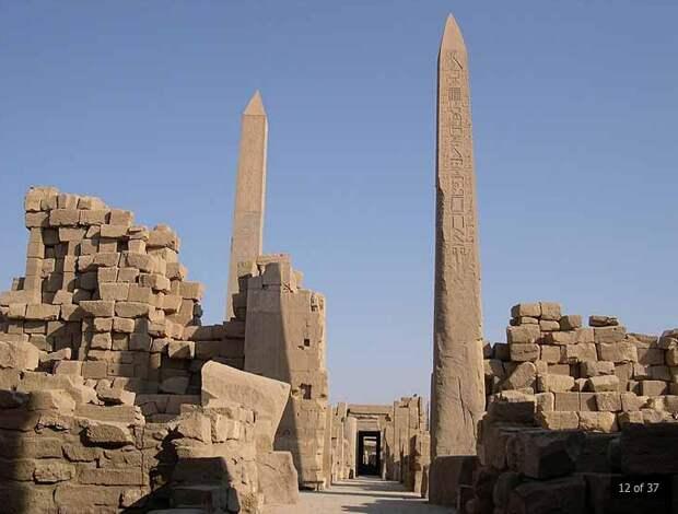 Карнак: следы машинных технологий на древнем памятнике