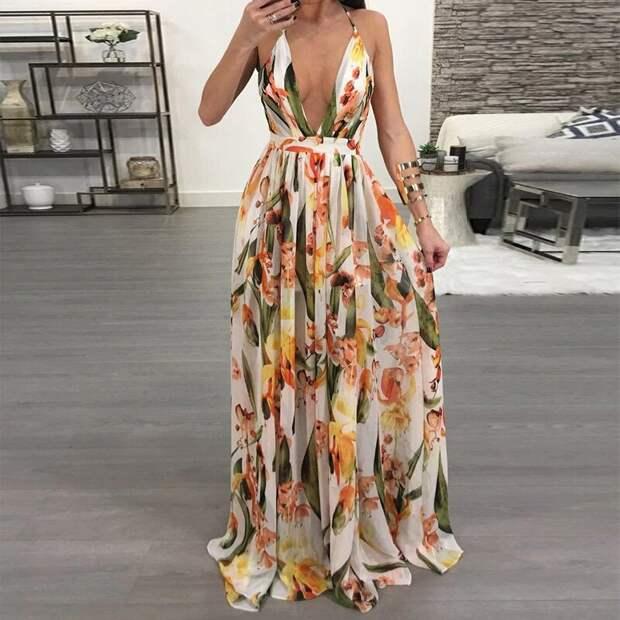 Сарафан «макси» – модная вещь в гардеробе