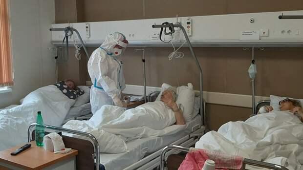 Еще 8995 человек за сутки заболели коронавирусом в России