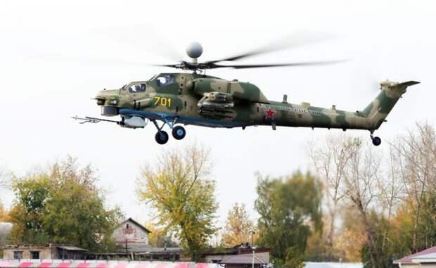 На фото: вертолет Ми-28Н