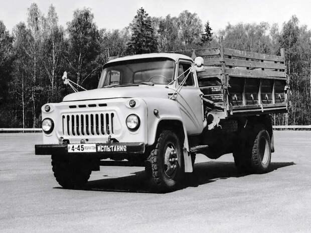 Советский грузовик побивший все рекорды в стране, ГАЗ 53