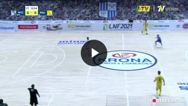 Minas 0 x 2 Praia Clube - Melhores Momentos LNF 2021 (13/05/2021)