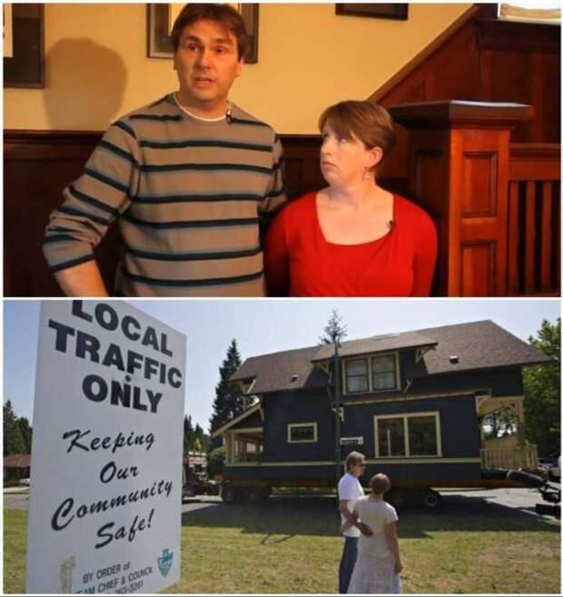 Мигрирующая недвижимость, или Как в Канаде 100-летний дом перевозили