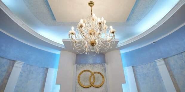 Собянин открыл реконструированный Дворец бракосочетания на Бутырской улице