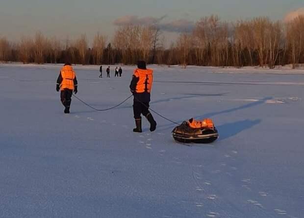 Группу детей спасли со льда Камы в Удмуртии
