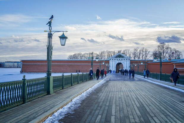 Легенды Петропавловского собора.