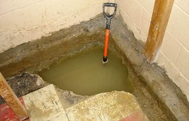 Как можно эффективно просушить погреб и избавить его от сырости
