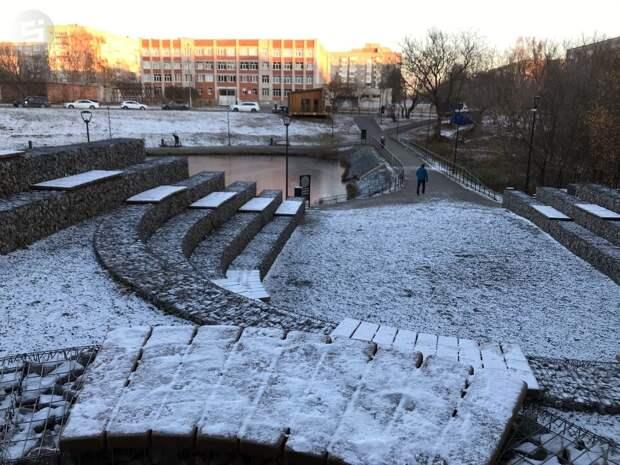 Снежный накат образуется на дорогах Удмуртии во вторник