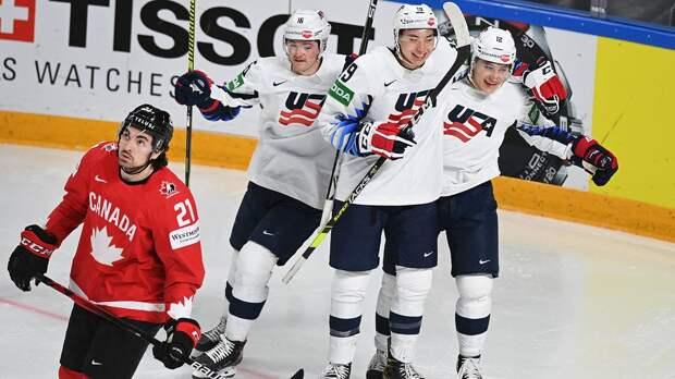 Канада позорится на чемпионате мира. Без шансов проиграла Америке, еле вымучив первый гол за два матча