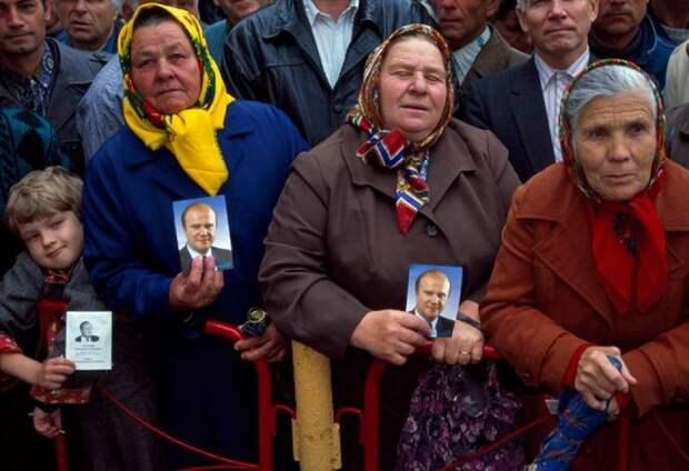 СССР и его бывшие территории в конце 1980-90-х)
